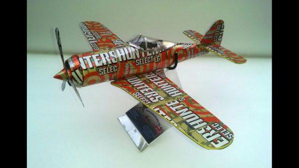 Focke-Wulf FW190 soda can airplane Plans