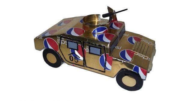 Soda Can Humvee plans