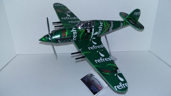 Hawker Hurricane soda can airplane Plans