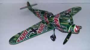 Aluminum can airplane instructions ME-109