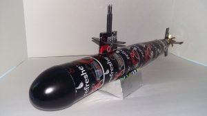 Aluminum can submarine plans