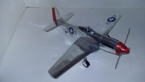 Soda Can Models P-51D Mustang Beer can plane instructions