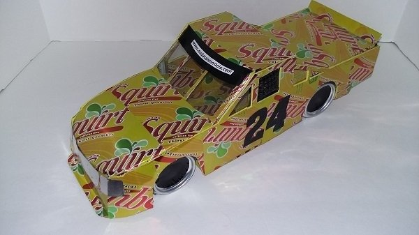 beer can car plans