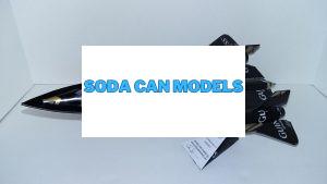 Beer can plane pattern SR-71 Blackbird