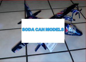 C-130 Hercules pop can model Plans