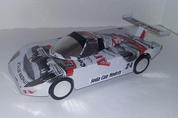 coke can car pattern