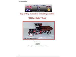 Coke can car plans Ford Model T Truck