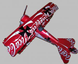 Fokker DR1 soda can airplane Plans