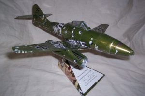 Me 262 soda can airplane plans