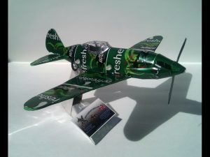 MiG-3 soda can airplane plans