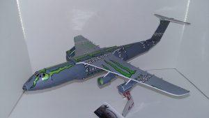 Pop can model C-5 Galaxy Plans
