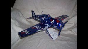 Pop can plane instructions Grumman F6F Hellcat