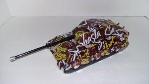 Pop Can Tiger II Tank plans