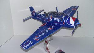 Soda can aircraft plans TBM Avenger
