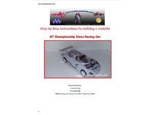 Coke can car pattern GT Class racing car