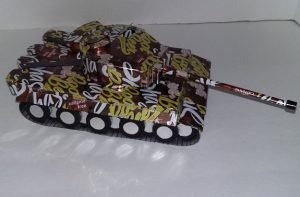 soda can heavy tiger tank