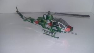 Soda can helicopter Plans Bell AH-1 Cobra