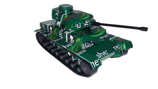 Soda Can Panzer Tank plans