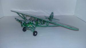 Soda Can plane Piper Cub Plans