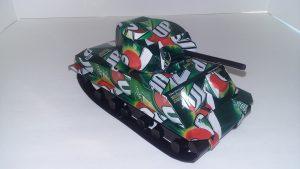 Soda Can Sherman Tank plans