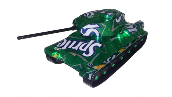 Soda Can T-34 Tank plans
