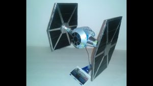 Soda Can Tie Fighter plans