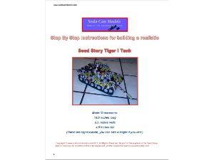 Soda Can Tiger heavy Tank plans