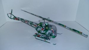 Pop can Helicopter Plans Bell H-13 Sioux