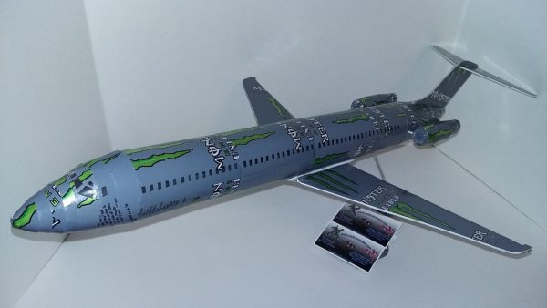 Beer can airplane templates McDonnell Douglas DC-9