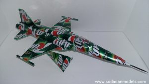 F-5E Tiger II soda can airplane Plans
