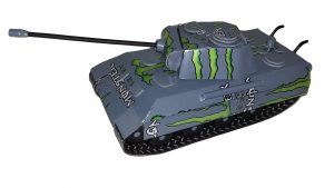 Beer can Panther Tank plans