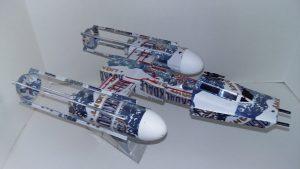 Beer can spaceship Y-Wing