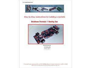 Can car template Brabham formula 1