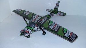 pop can model airplane