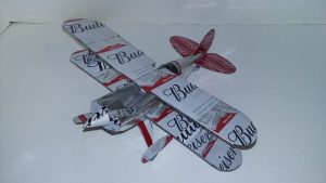 beer can plane template