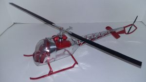 Bell 47G Helicopter plans