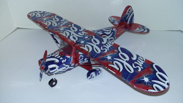soda can airplane plans