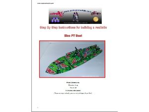 Complete Set of FIVE Soda can Ship & Submarine plans
