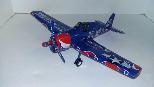 soda can airplane world war 2 plans