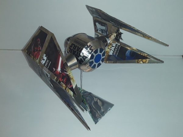 pop can airplane tie interceptor plans