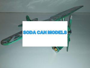 aluminum can airplane templates