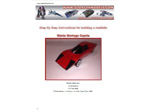 Coke Can Car Manta Montage Coyote Plans