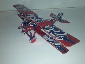 soda can biplane